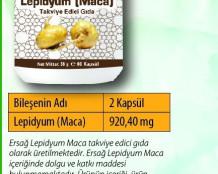 Ersağ Lepidyum (Maca)