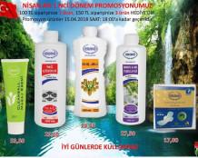 Ersağ Nisan ayı ilk Promosyon Ürünleri