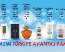 Ersağ Kasım Avantaj Paketi Ürünleri