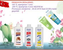 Ersağ Şubat ayı ikinci dönem promosyon ürünleri