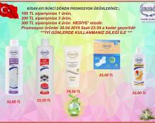 Ersağ Nisan ikinci dönem promosyon ürünleri