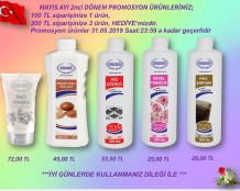 Ersağ Mayıs ayı ikinci dönem promosyon ürünleri