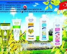 Ersağ Temmuz ayı ikinci dönem promosyon (hediye) ürünleri