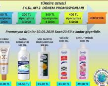 Ersağ 2019 Eylül 2.Dönem Promosyon Ürünleri