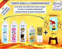 Ersağ 2020 Mart Türkiye Geneli 6/4 Kampanyası