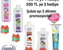 Ersağ 2020 Şubat Türkiye Promosyon ( Hediye ) Ürünler