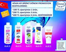 Ersağ 2020 Nisan Türkiye Promosyon ( Hediye ) Ürünler