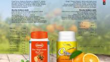 Ersağ Turunç, Kuşburnu Ekstreleri ve Vitamin C